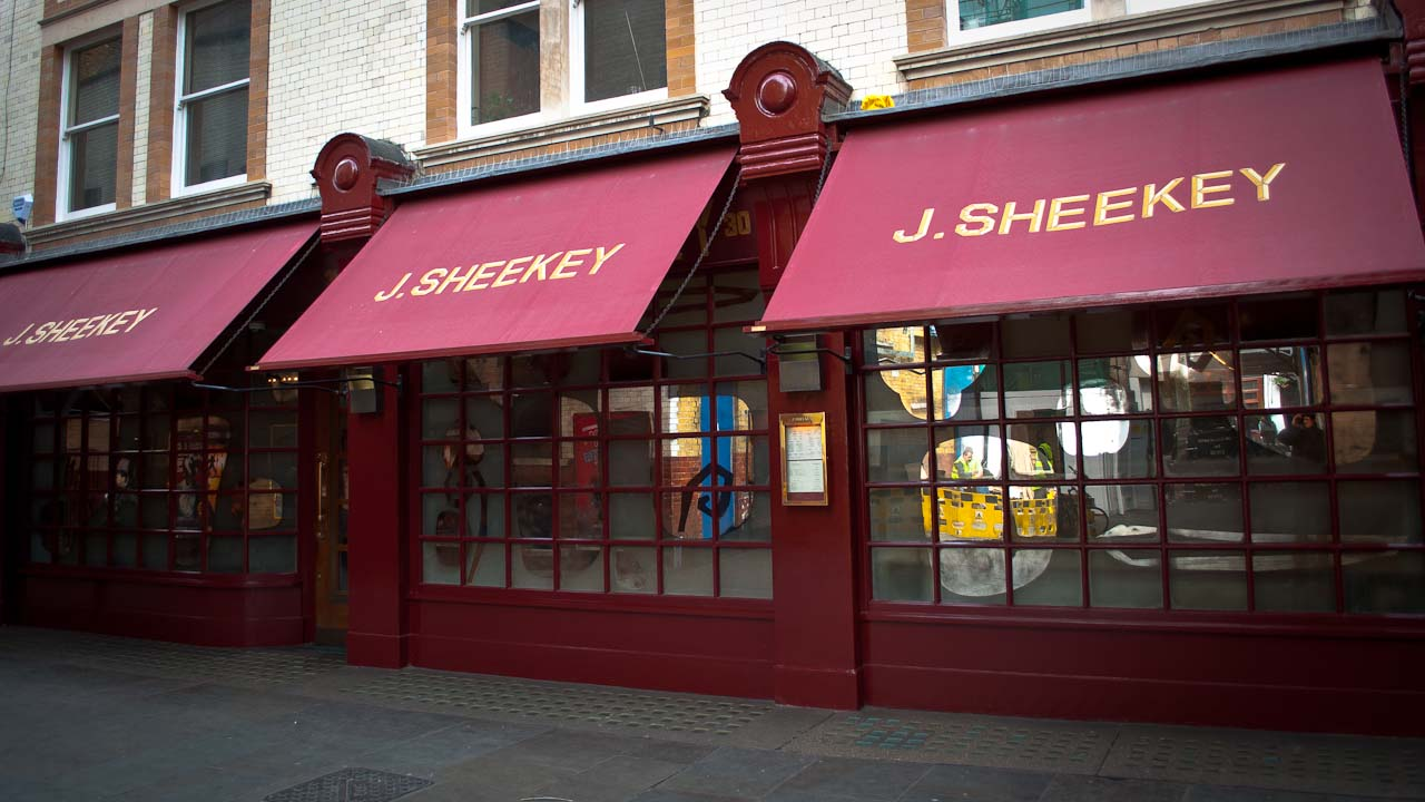 J sheekey oyster bar london for J s food bar 01708