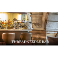 Logo, Threadneedle Bar - London