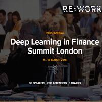 Deep Learning in Finance Summit London